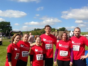 The Wolf Run team ready to go