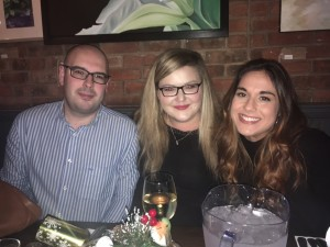 The 2016 Young Professionals Christmas meal at the White Horse